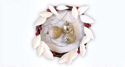 Valmista isikupärane jõulupärg